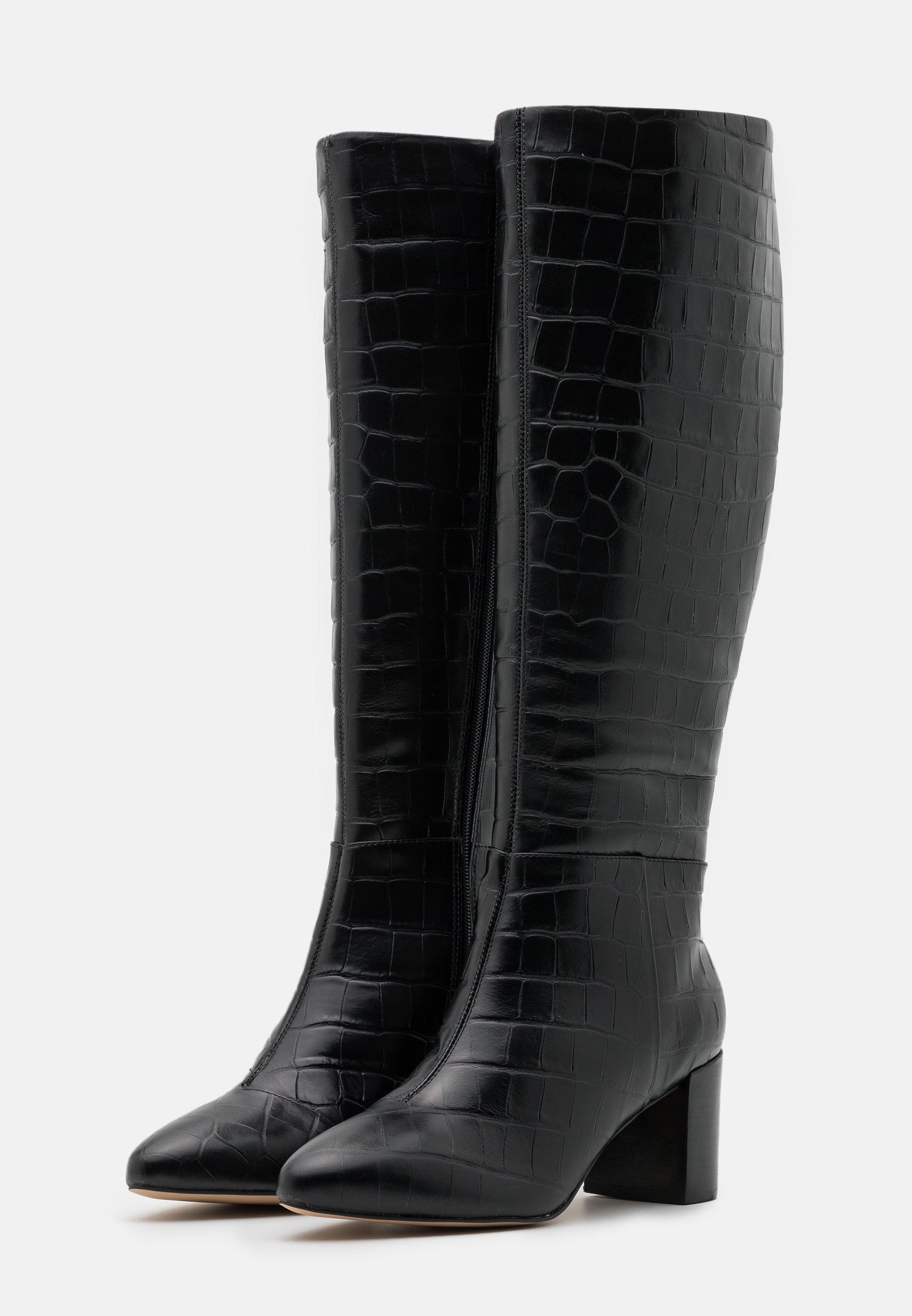Dune London SAFFIA Stiefel black/schwarz