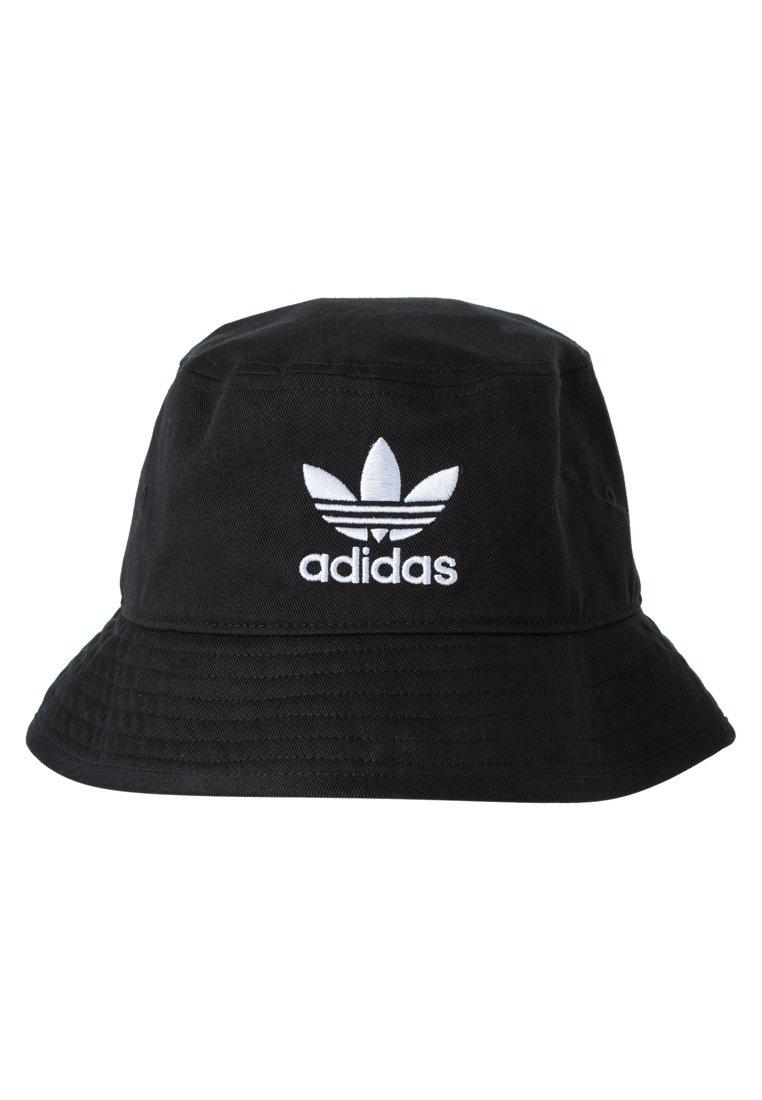 raqueta Dependencia deshonesto  adidas Originals BUCKET HAT UNISEX - Hut - black/ white/schwarz - Zalando.de