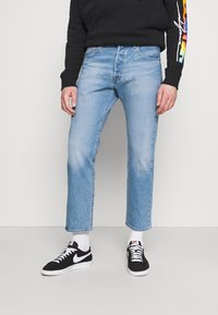 Levi's® - 501 '93 CROP - Straight leg jeans - thunder night rider - 0