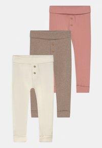 Marks & Spencer London - BABY 3 PACK - Leggings - Trousers - white - 0