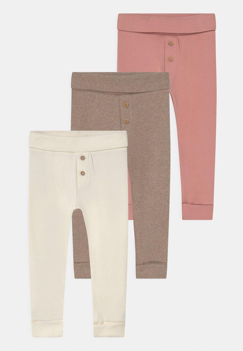Marks & Spencer London - BABY 3 PACK - Leggings - Trousers - white