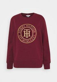 Tommy Hilfiger - REGULAR - Sweatshirt - deep rouge - 0