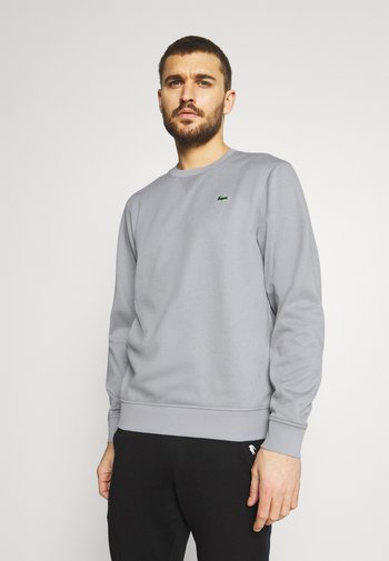 TECH - Sweatshirt - silver chine/elephant grey
