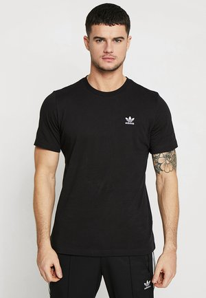 ADICOLOR ESSENTIAL TEE - T-shirt z nadrukiem - black
