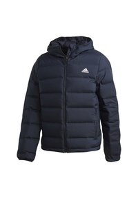 adidas Performance - HELIONIC OUTDOOR HOODED DOWN - Chaqueta de plumas - blue - 12