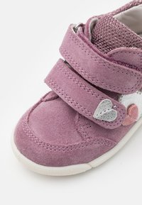 Superfit - AVRILE MINI - Touch-strap shoes - lila/rosa - 5