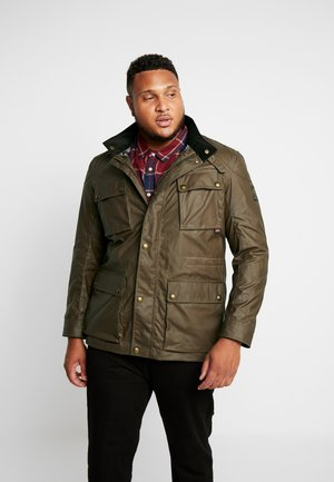 BIG & TALL FIELDMASTER - Summer jacket - capers