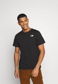 The North Face - MESSAGE TEE - T-Shirt print - black - 0