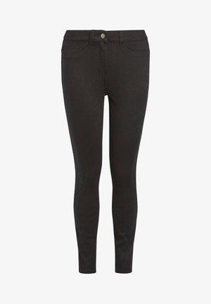 BLACK FLY FASTEN JERSEY DENIM LEGGINGS - Jeans Skinny Fit - black