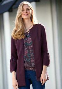 Dress In - Short coat - aubergine - 0