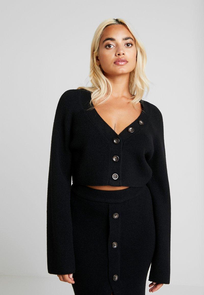 Fashion Union Petite - VELERINA - Cardigan - black