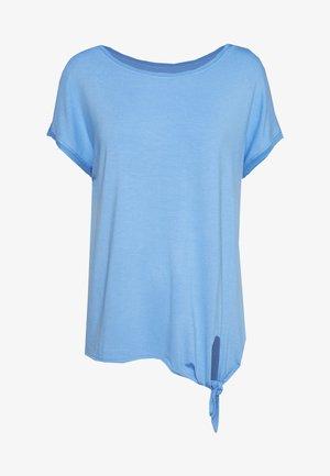 T-shirts med print - light blue