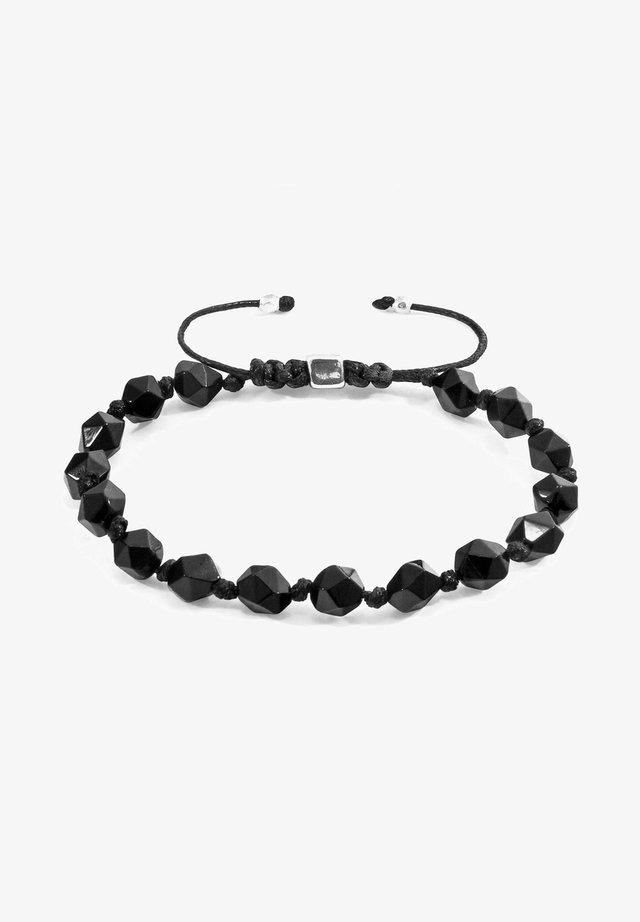 BEADED MACRAME - Bracelet - black
