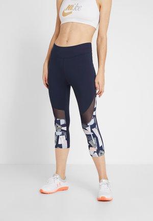 3/4 sportovní kalhoty - dark blue