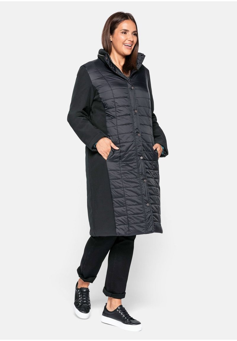 Sheego - Winter coat - schwarz