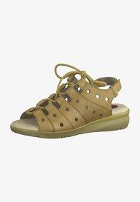 Jana - JANA - Walking sandals - nut - 1