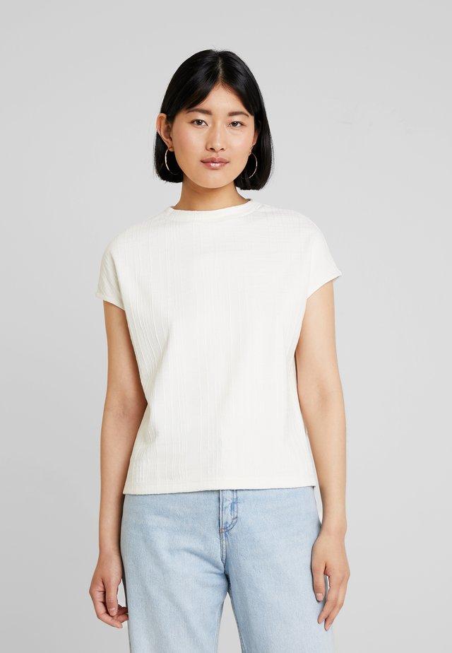 UNNA - T-shirt con stampa - milk