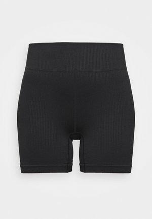 SEAMFREE BIKE SHORT - Collants - black