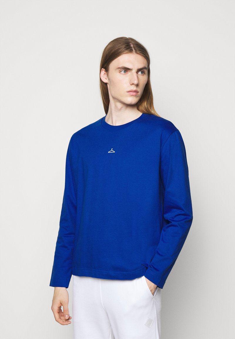 Holzweiler - HANGER LONGSLEEVE - Long sleeved top - blue