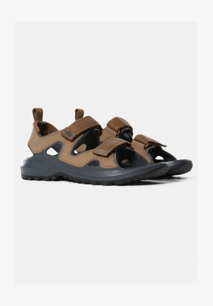 M HEDGEHOG SANDAL III - Walking sandals - otter dark shadow grey