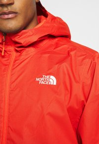 The North Face - MENS QUEST JACKET - Hardshell jacket - orange/mottled black - 5