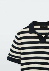 Massimo Dutti - Polo shirt - blue black denim - 5