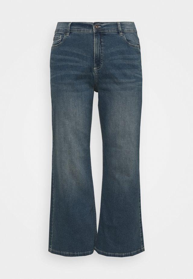 WIDE LEG - Džíny Relaxed Fit - vintage indigo