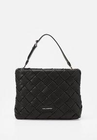 KARL LAGERFELD - KUSHION BRAID TOTE - Handbag - black - 1