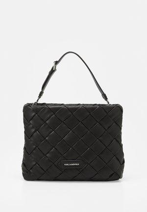 KUSHION BRAID TOTE - Handbag - black
