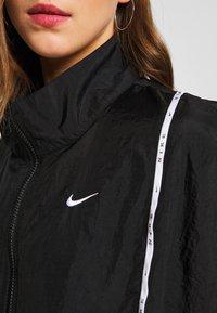 Nike Sportswear - PIPING - Leichte Jacke - black/white - 5