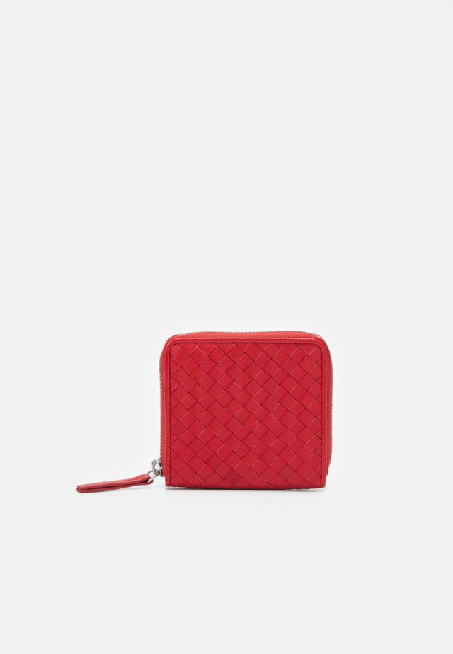 SHORT WALLET UNISEX - Lommebok - red