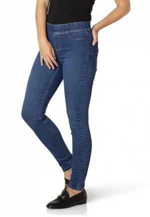TESS - Leggings - Trousers - mid blue