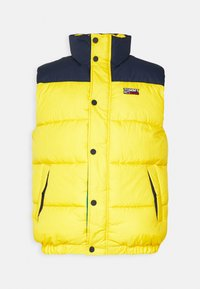 Tommy Jeans - CORP VEST - Waistcoat - valley yellow - 3