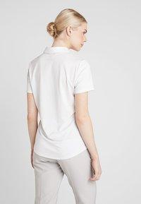adidas Golf - MICRODOT SHORT SLEEVE - Poloshirt - white - 2