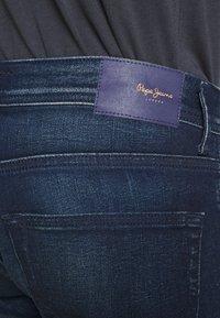 Pepe Jeans - CASH 5 PKT - Jeans slim fit - dark blue denim - 4