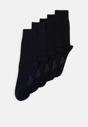 5 PACK - Strumpor - black