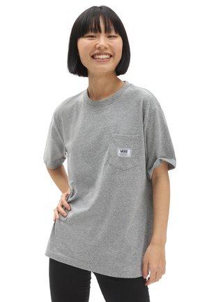 WM CLASSIC PATCH POCKET - T-shirt basic - concrete heather