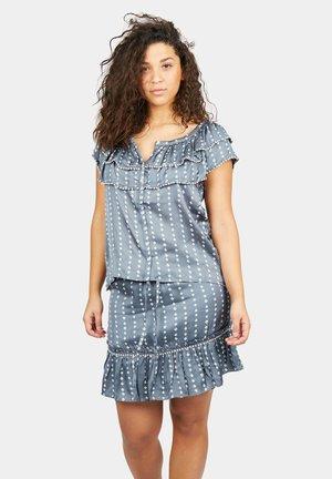 A-lijn rok - batik grey