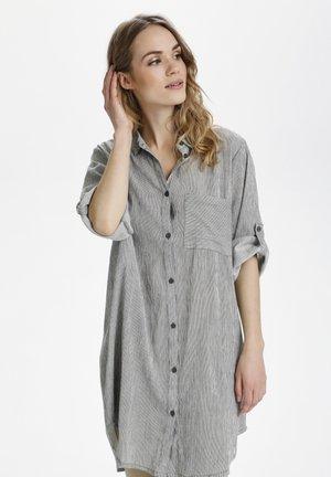KAVIVIAN  - Shirt dress - grape leaf   chalk stripe