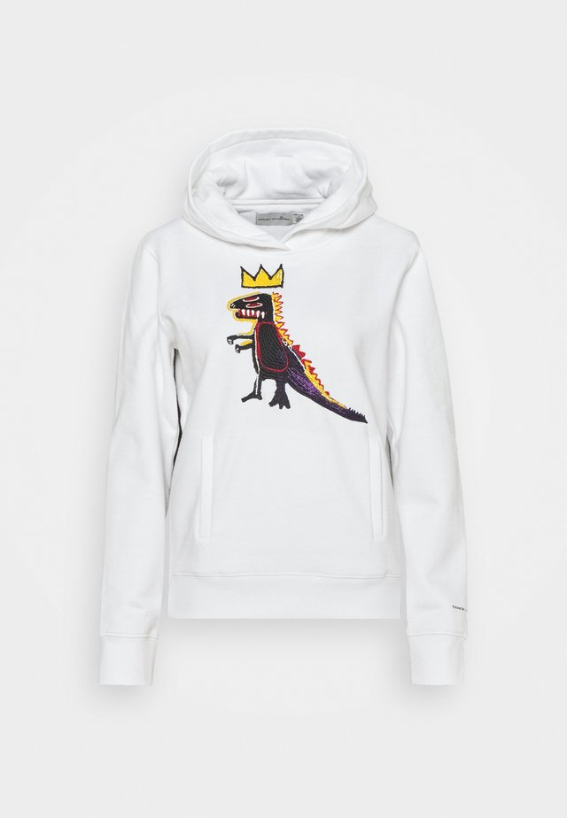 JEAN MICHEL BASQUIAT PEZ DISPENSER HOODIE - Sweatshirt - white