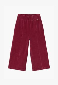 Lemon Beret - SMALL GIRLS PANTS - Trousers - rio red - 0