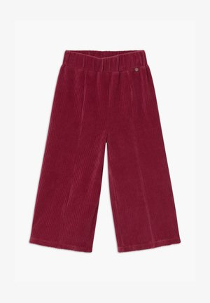 SMALL GIRLS PANTS - Trousers - rio red