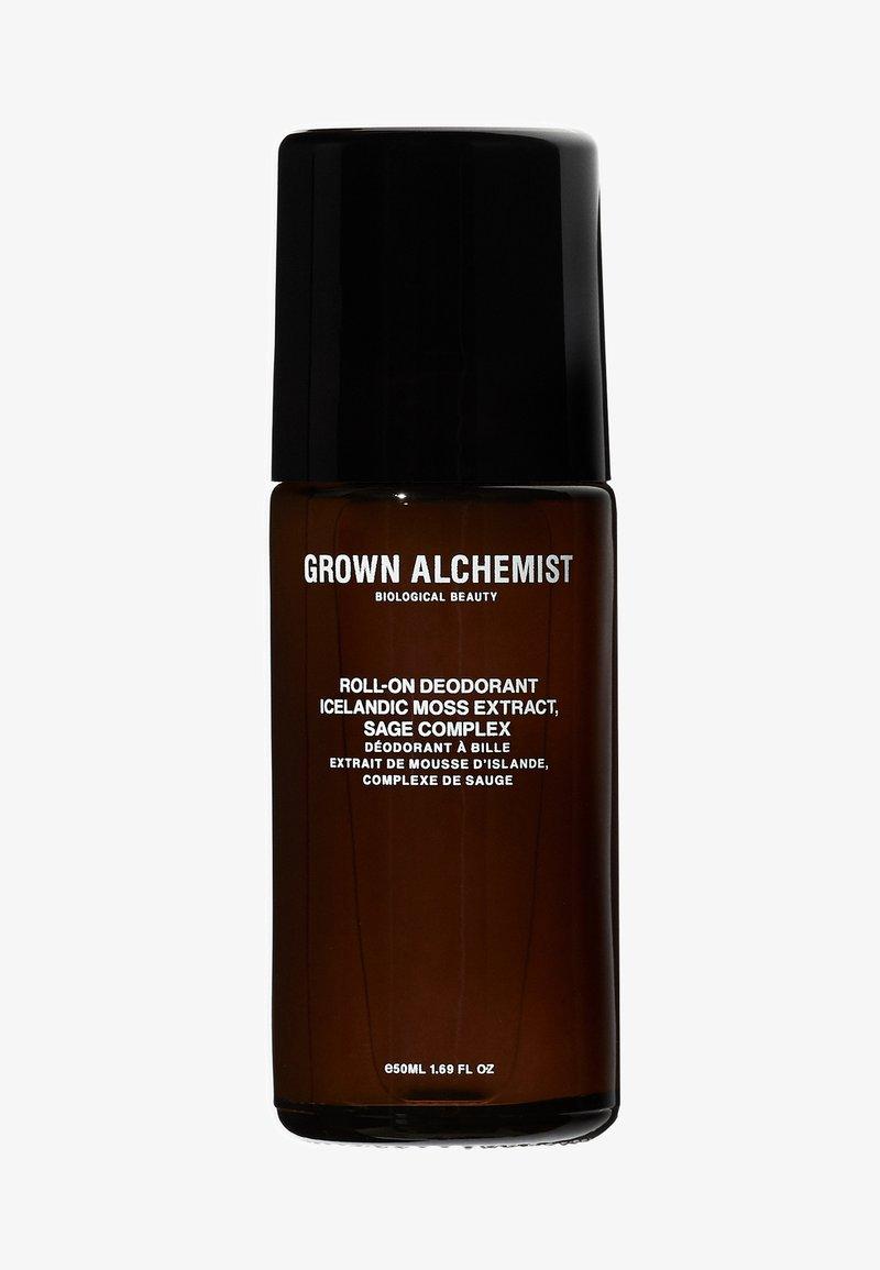 Grown Alchemist - ROLL-ON DEODORANT ICELANDIC MOSS EXTRACT, SAGE COMPLEX - Déodorant - -