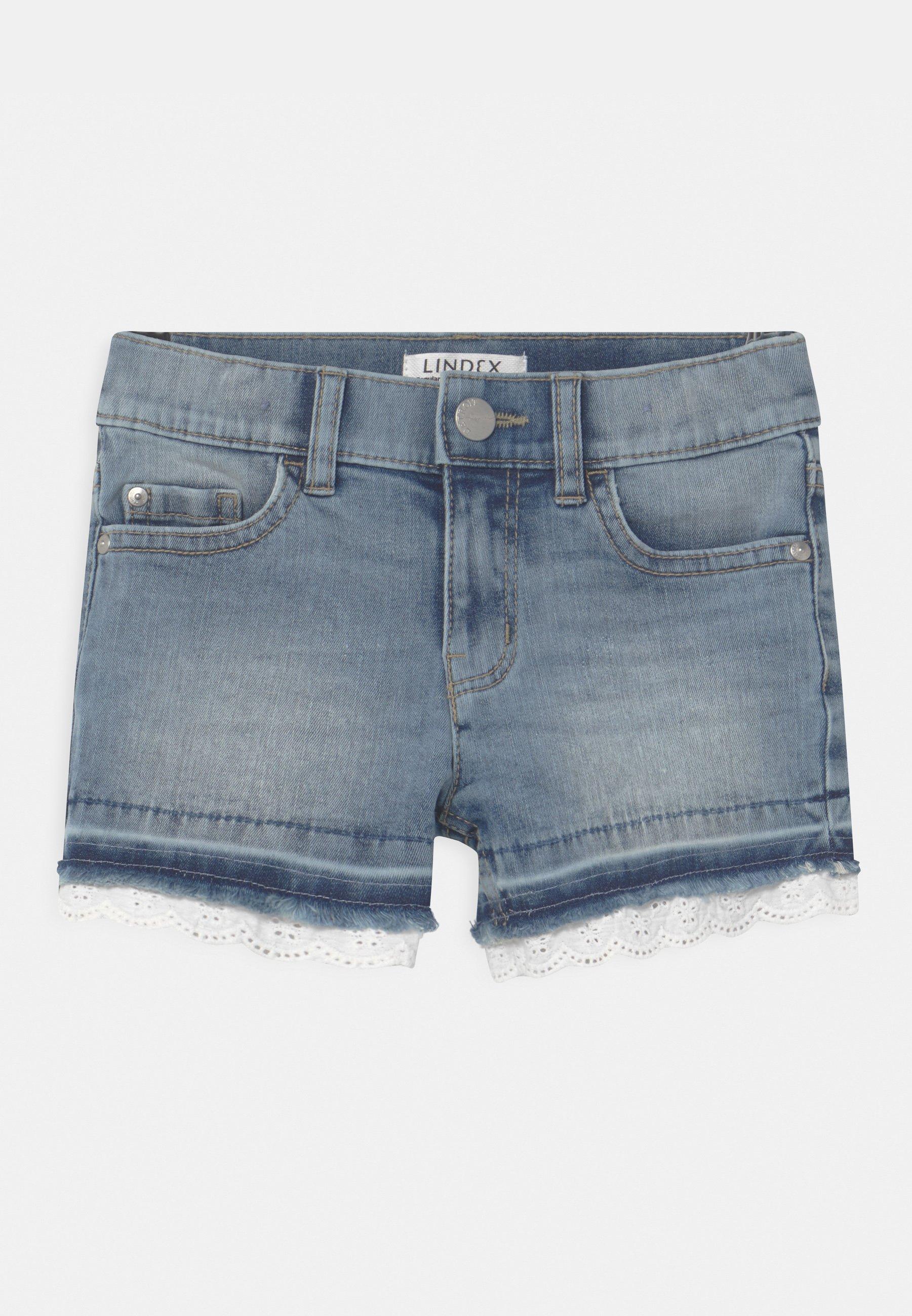 Kids ELWIRA - Denim shorts - blue denim