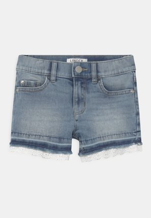 ELWIRA - Denim shorts - blue denim