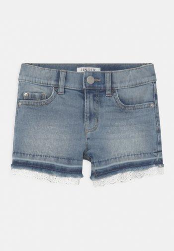 ELWIRA - Denim shorts - blue denim