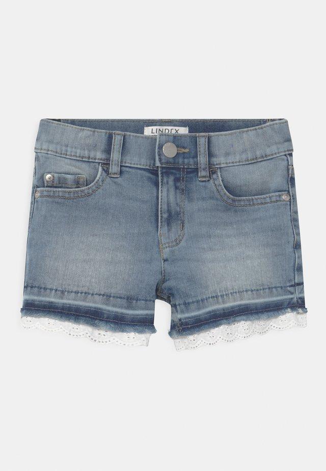 ELWIRA - Short en jean - blue denim