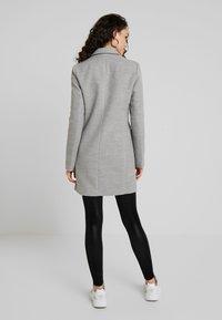 TWINTIP - Classic coat - grey melange - 2
