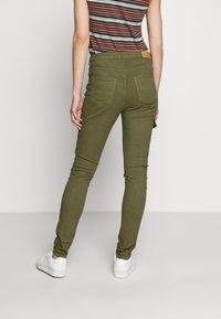 edc by Esprit - UTILITY - Bukse - khaki green - 2