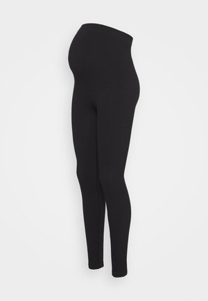 PCMRENNY SEAMLESS LEGGING LOUNGE  - Legíny - black